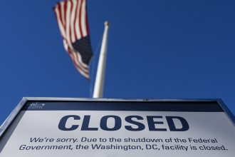 The 2018 government shutdown has affected scientific agencies and their research and data collection across the government. Credit: Andrew Caballero-Reynolds/AFP/Getty Images