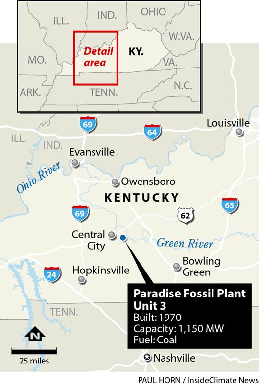 Locator: Paradise Fossil Plant, Kentucky
