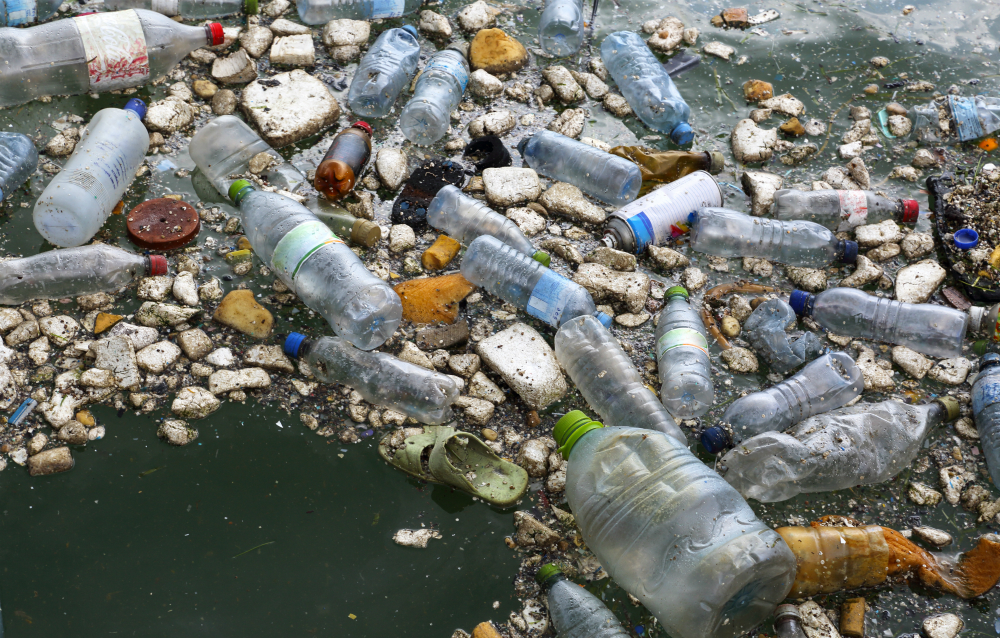 Increasing amounts of plastic waste are ending up in streams and oceans. Credit: Rosemary Calvert via Getty Images