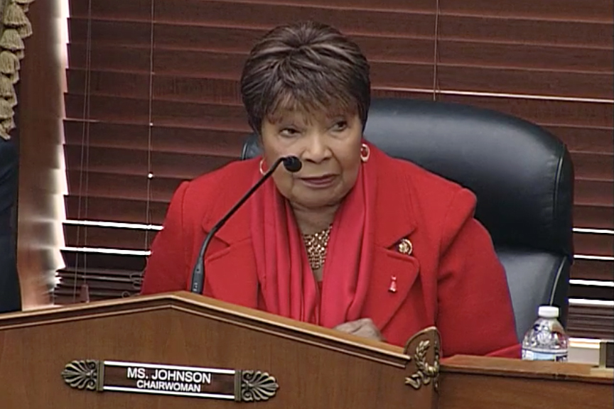 Rep. Eddie Bernice Johnson (D-Texas) replaced a climate denier as chair of the House Science Committee this year. Credit: Congress