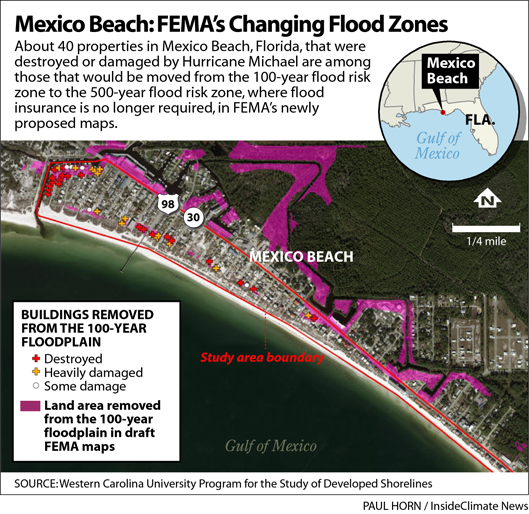 Mexico Beach: FEMA's Changing Flood Zones