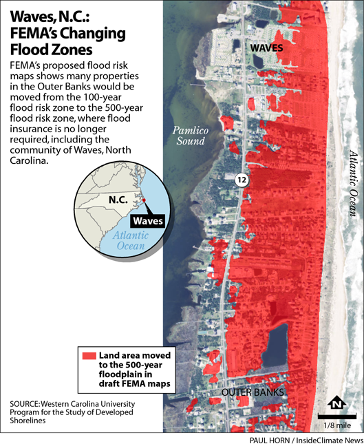 Outer Banks: FEMA's Changing Flood Zones