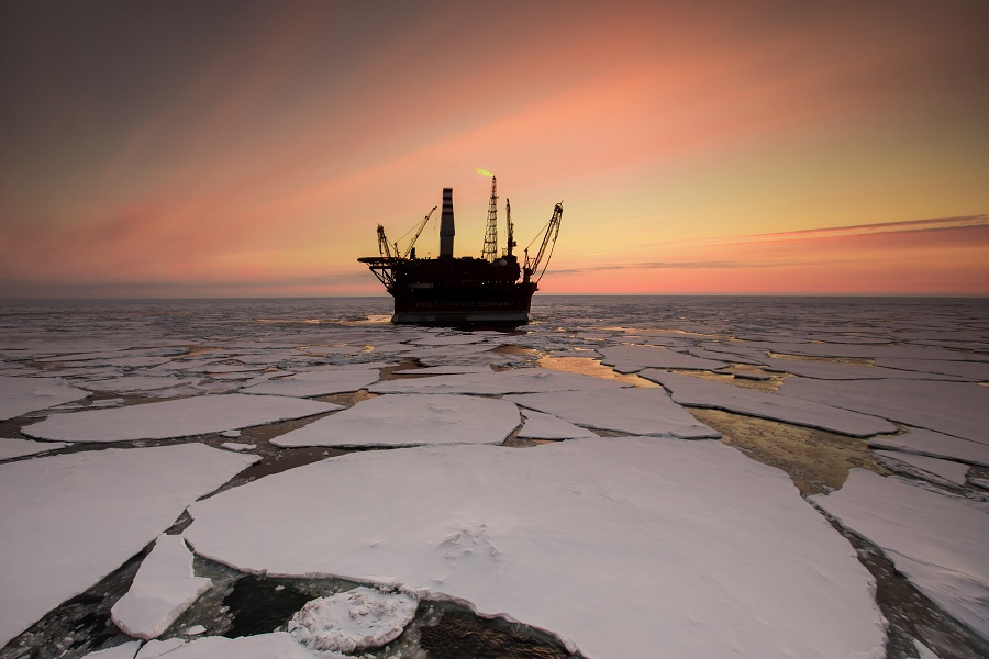 Arctic oil drilling. Credit: Sergey Anisimov/Anadolu Agency/Getty Images