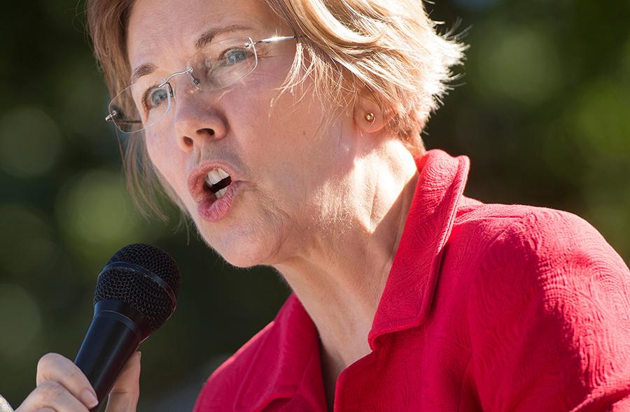 U.S. Sen. Elizabeth Warren, a Massachusetts Democrat running for president. Credit: Saul Loeb/AFP/Getty Images