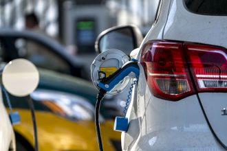 Electric vehicle, charging. Credit: Zhang Peng/LightRocket via Getty Images