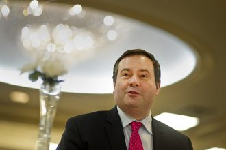 Jason Kenney was elected premier of Alberta. Credit: Keith Beaty/Toronto Star via Getty Images