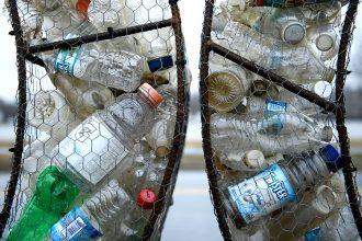 Plastic waste. Credit: Brendan Smialowski/AFP/Getty Images
