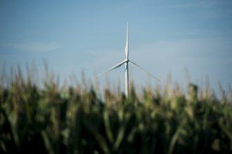 Iowa wind power. Credit: Bill Clark/Getty Images