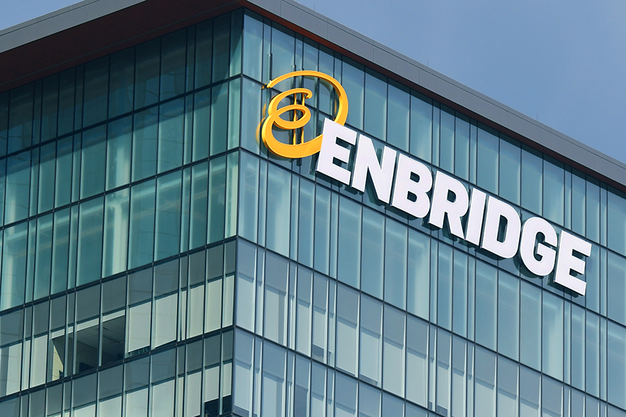 Enbridge offices in Edmonton, Canada. Credit: NurPhoto via Getty Images