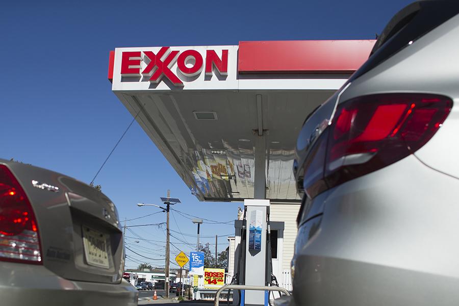 Exxon station. Credit: Kena Betancur/VIEWpress/Corbis via Getty Images
