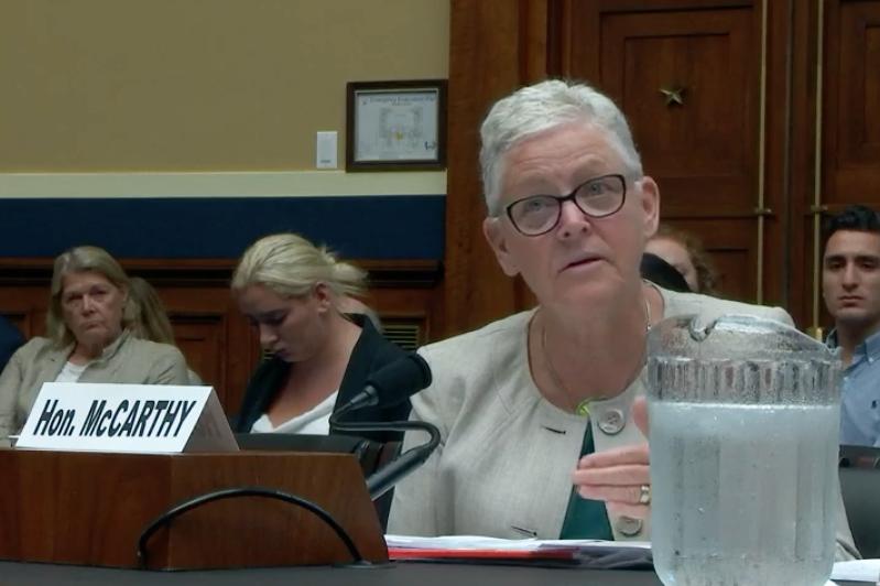Gina McCarthy, EPA administrator during Barack Obama's administration. Credit: Congress video
