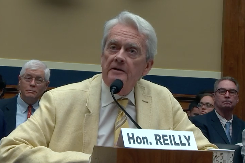 William Reilly served as EPA administrator in the George H.W. Bush administration. Credit: Congress