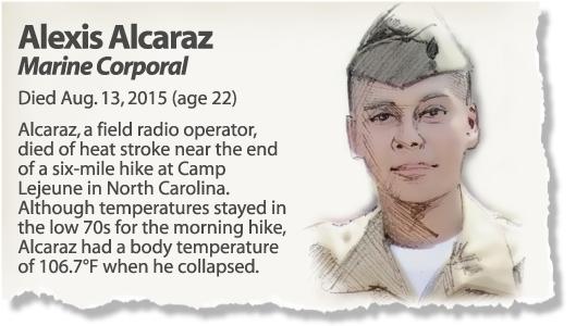 Profile: Cpl. Alexis Alcaraz