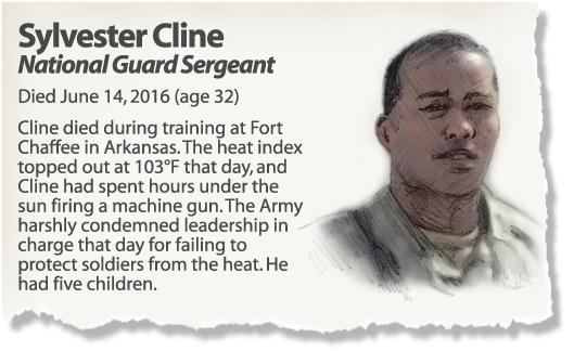 Profile: Sgt. Sylvester Cline