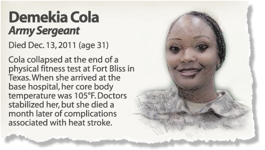 Profile: Sgt. Demekia Cola