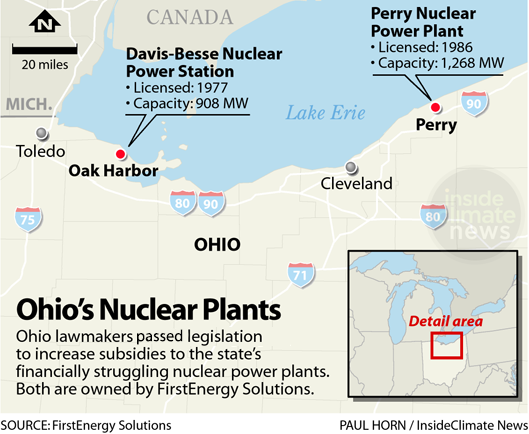 Ohio nuclear plants