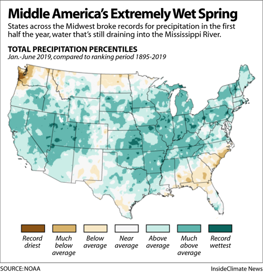 Map: Middle America's Extremely Wet Spring
