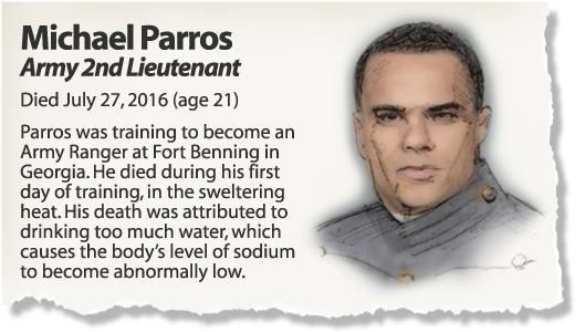 Profile: 2nd Lt. Michael Parros
