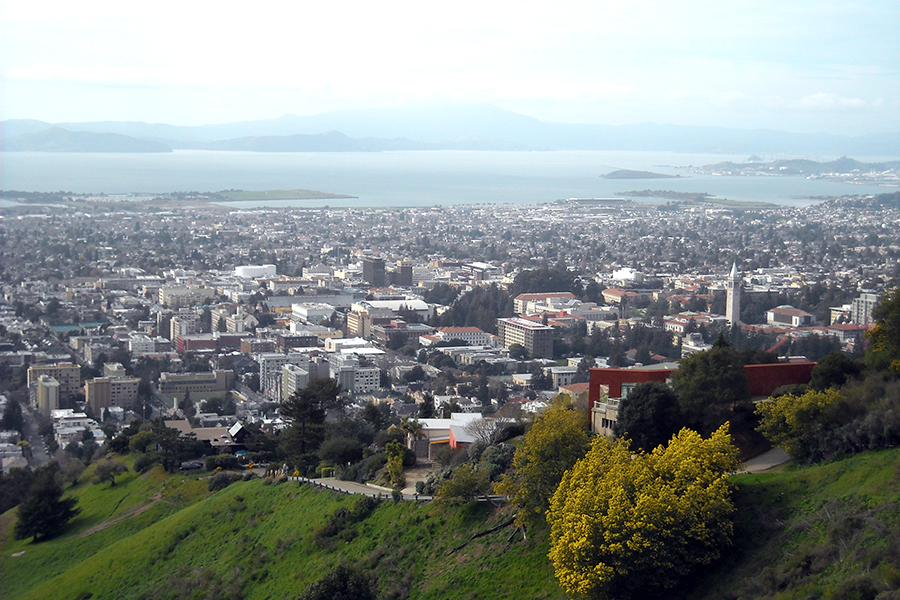 Berkeley, California. Credit: Daniel Ramirez/CC-BY-2.0