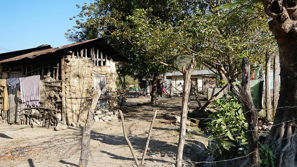 Homes in El Rosario. Credit: Georgina Gustin/InsideClimate News