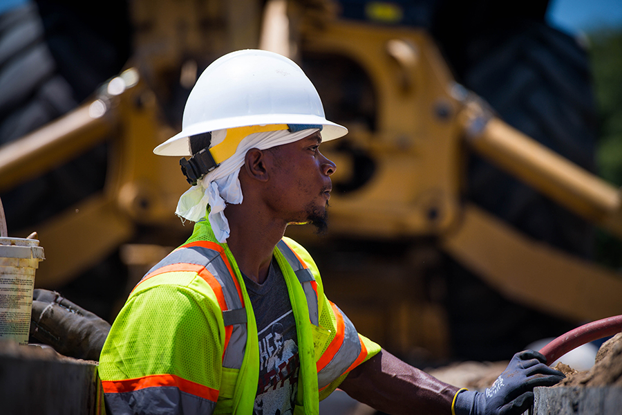 Outdoor laborers, athletes and the elderly are among those most at risk as global temperatures rise. Sarah Reingewirtz/Pasadena Star News via Getty Images