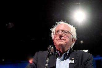 Bernie Sanders. Credit: Ethan Miller/Getty Images