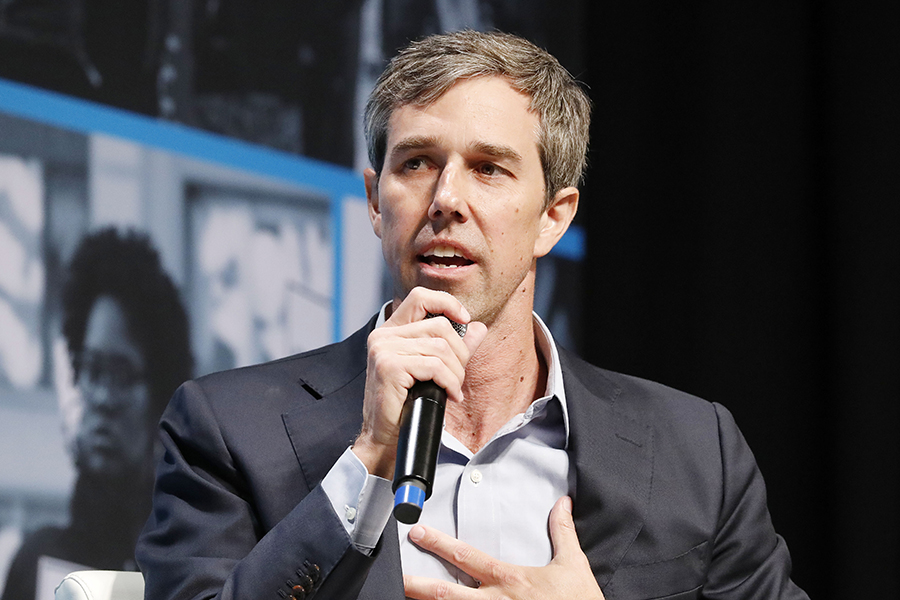 Beto O'Rourke. Credit: Kimberly White/Getty Images