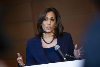 Sen. Kamala Harris. Credit: Al Drago/Getty Images