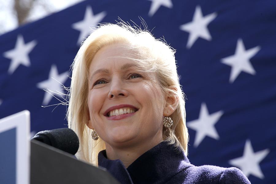 Sen. Kirsten Gillibrand. Credit: Kena Betancur/Getty Images