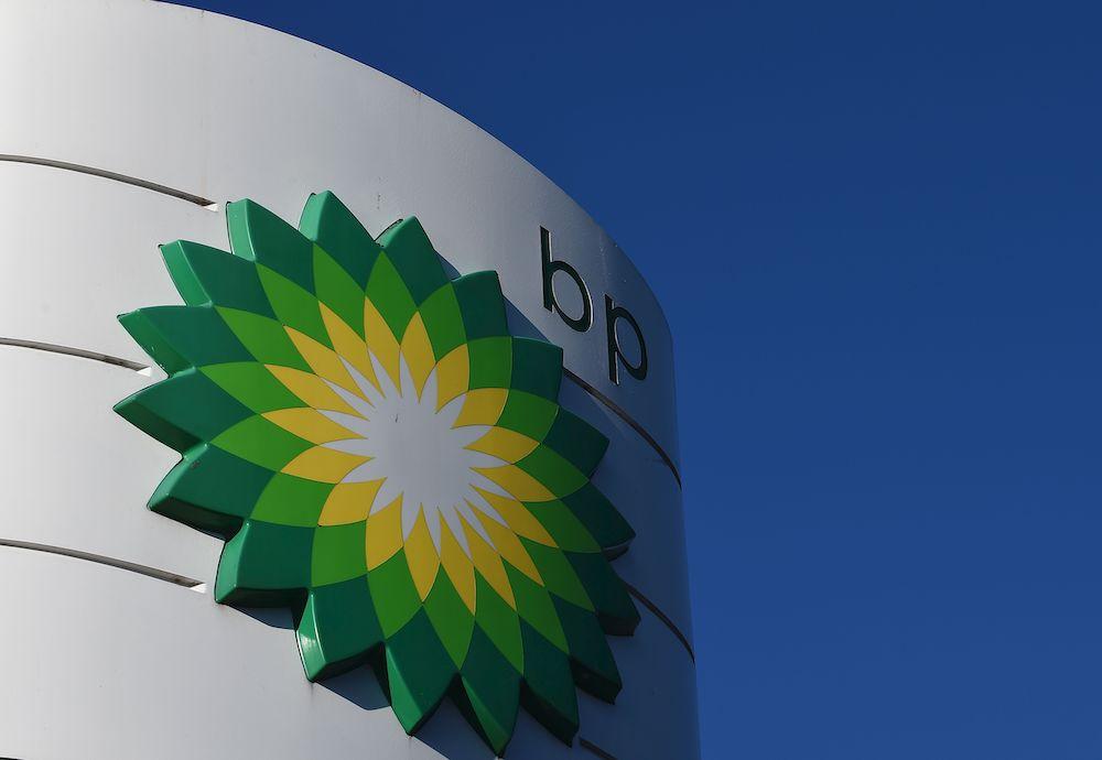 BP sign. Credit: Paul Ellis/AFP/Getty Images