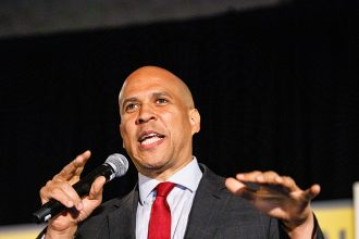 Sen. Cory Booker. Credit: Dustin Chambers/Getty Images
