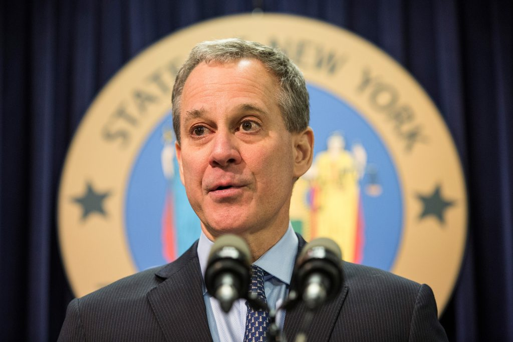 Eric Schneiderman, former New York attorney general