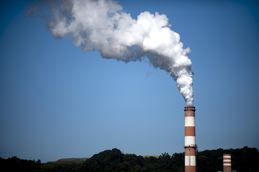 A coal-fired power plant in Pennsylvania. Credit: Jeff Swensen/Getty Images