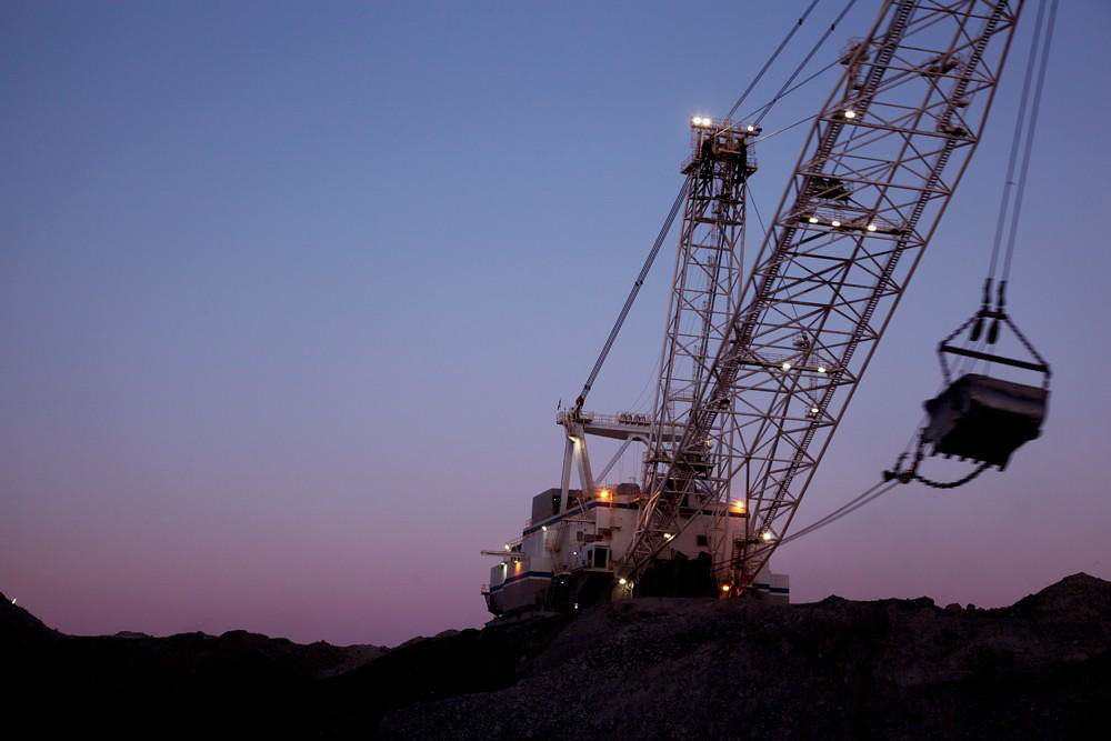 Coal mining in Wyoming. Credit: Bureau of Land Management