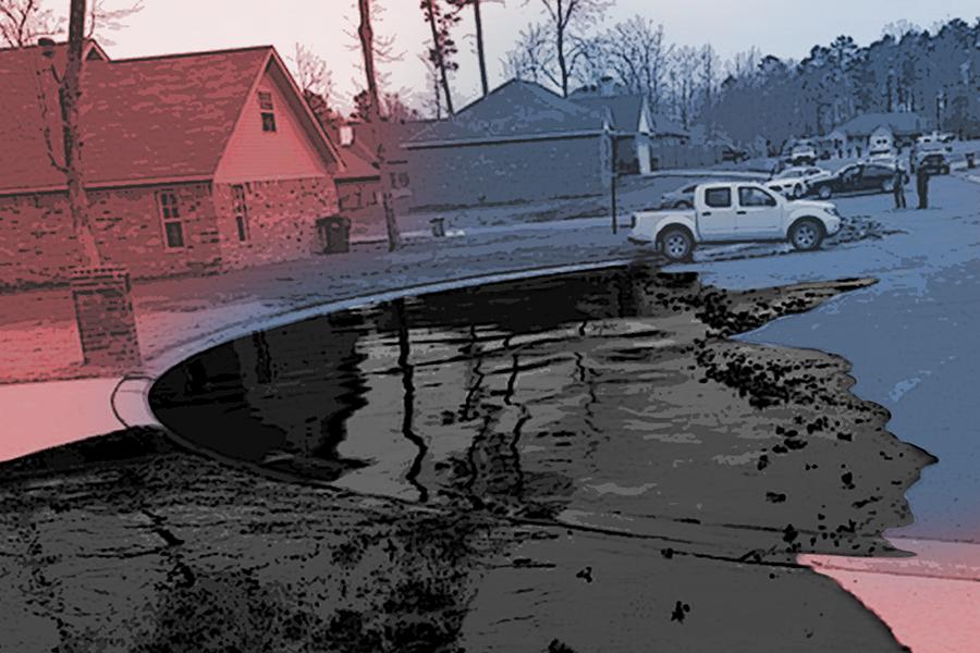 Exxon oil spill. Credit: Photo illustration based on EPA photo