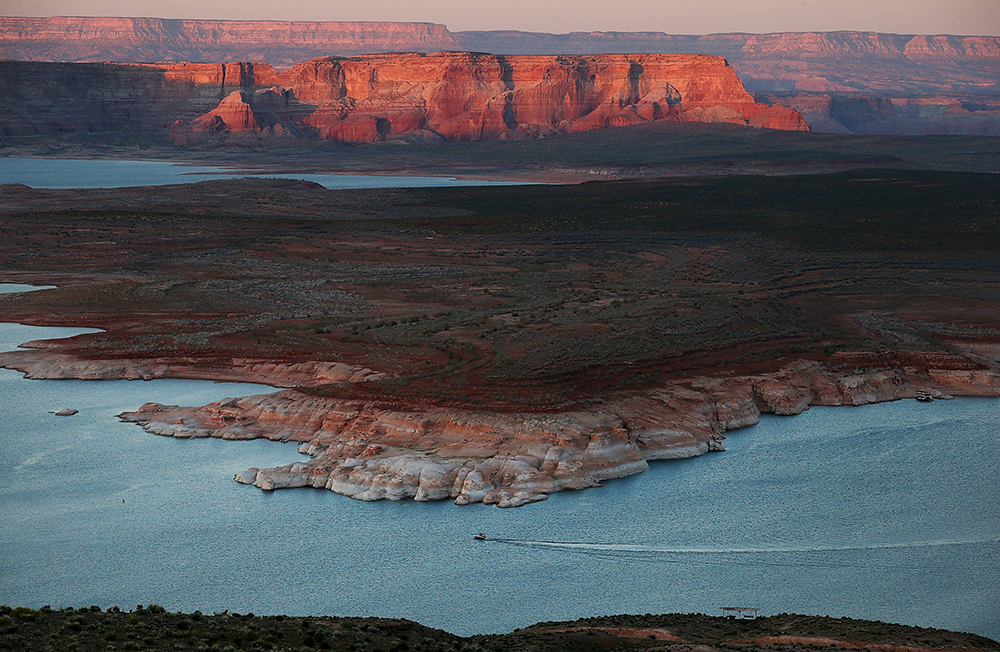 The Colorado River has faced severe water shortages in recent years. Credit: Justin Sullivan/Getty Images
