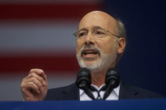 Pennsylvania Gov. Tom Wolf, a Democrat. Credit: Mark Makela/Getty Images