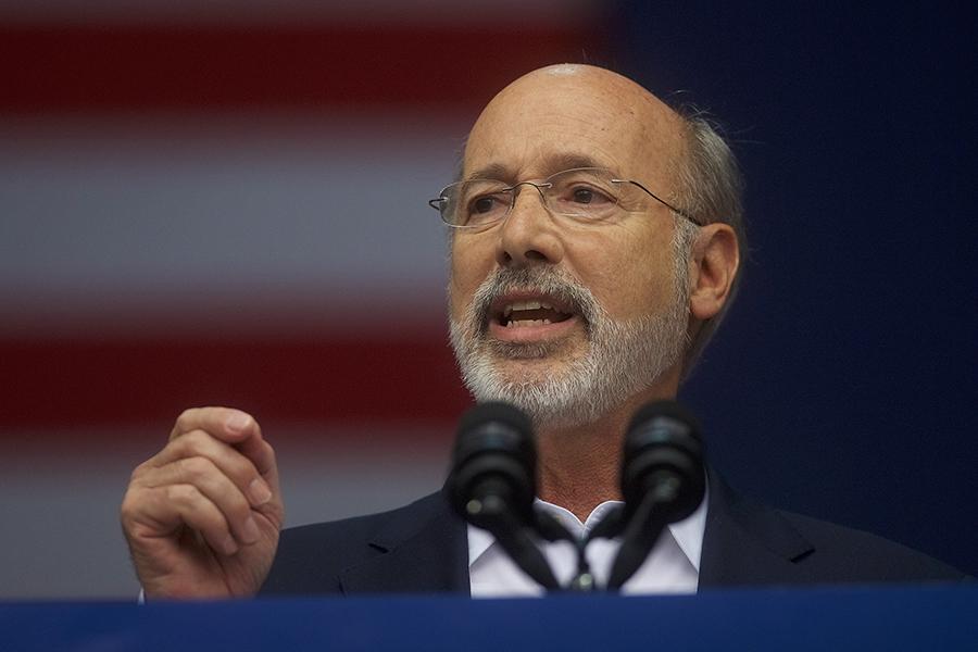 Pennsylvania Gov. Tom Wolf, a Democrat. Credit: Mark Makela/Getty Images