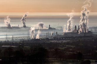 Industrial scene. Credit: Christopher Furlong/Getty Images