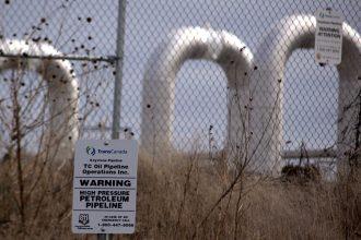 Keystone Pipeline infrastructure in Nebraska. Credit: Shannon Patrick/CC-BY-2.0