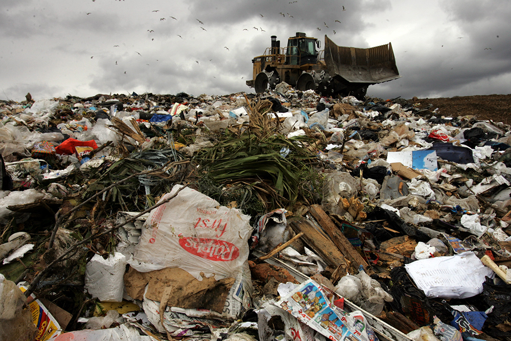 Landfills are another source of methane gas that can be captured for use. Credit: Gary Friedman/Los Angeles Times via Getty Images