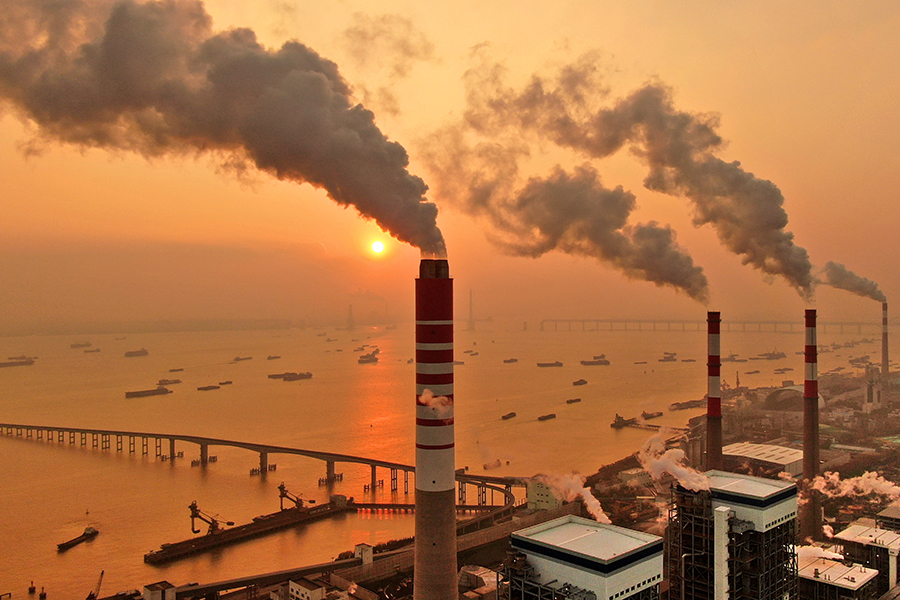 Nantong power station. Credit: Barcroft Media via Getty Images