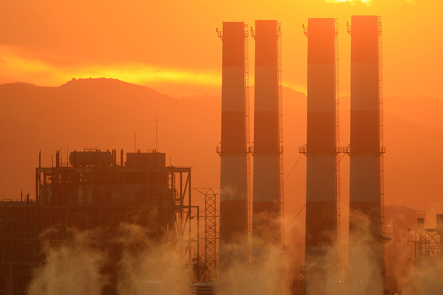 Power plant. Credit: David McNew/Getty Images