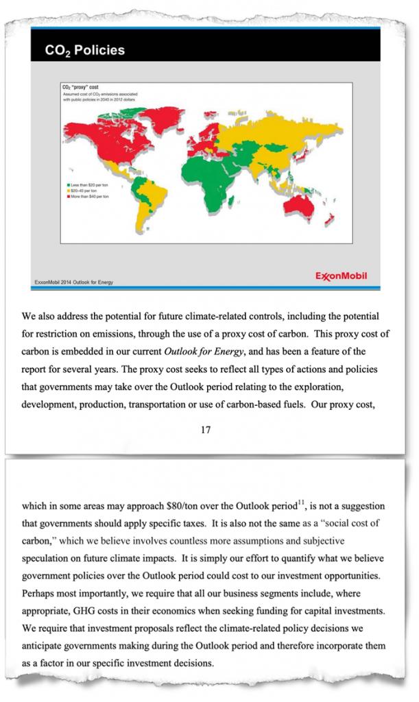 Excerpt: Exxon report