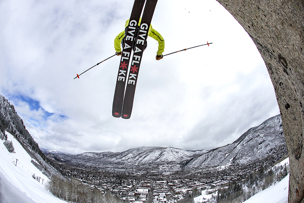 The ski industry is working to turn winter sports enthusiasts into climate supporters. Credit: Matt Powers/Aspen