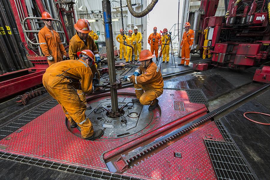 Oil exploration rig. Credit: Omar Torres/AFP/Getty Images