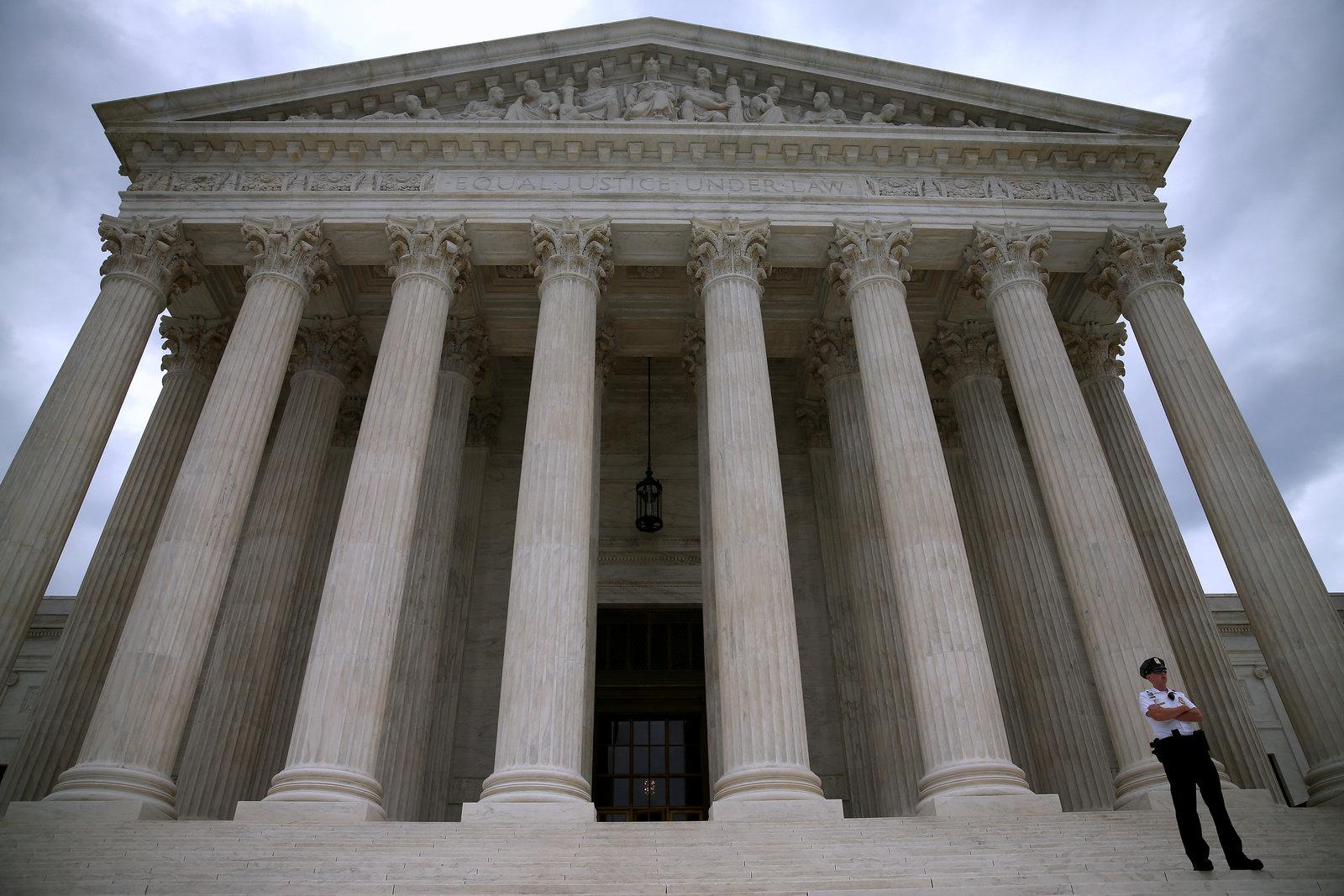 U.S. Supreme Court Building in Washington, D.C. Credit: Mark Wilson/Getty Images
