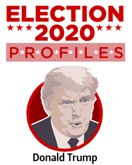 Donald Trump. Candidate Profiles 2020