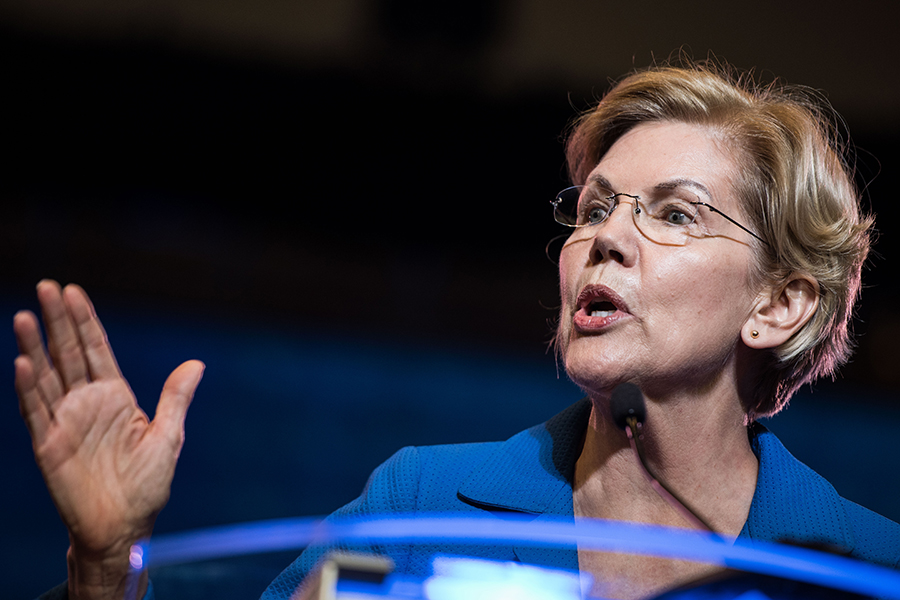 Elizabeth Warren. Credit: Sean Rayford/Getty Images