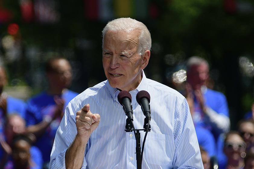 Former Vice President Joe Biden. Credit: Bastiaan Slabbers/NurPhoto via Getty Images